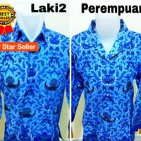 Baju Batik Korpri PNS Pria-Wanita