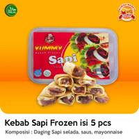 Kebab Sapi Frozen isi 5 pcs