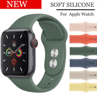 Strap Apple Wacth 38mm/40mm Soft Silicone Band iwacth Series 5 4 3 2 1