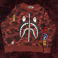bape shark crewneck wgm