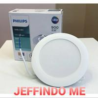 PHILIPS LED Downlight DN020B G2 6W LED6 3.5 D90 220-240V Round 6 WATT - Kuning
