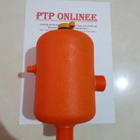 Tabung pompa air / Tabung Blowing / Tabung Sanyo (Plastik) 2lt
