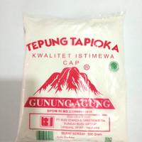 Sagu Gunung/Tepung Tapioka cap Gunung Agung 500gr