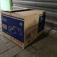 Kardus box karton BESAR 50X40X35 TEBAL 2 WALL BEKAS TISU UNTK PINDAHAN