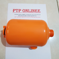 Tabung Fiber Pompa air / Tabung Sanyo (PVC) - TANPA WRAPPING