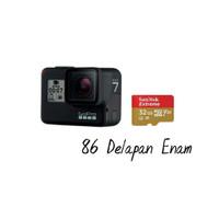 GoPro Hero 7 Garansi Resmi + Sandisk 32GB - Black
