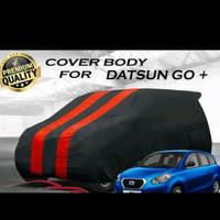 BODY COVER MOBIL 2WARNA DATSUN GO HITAM MERAH
