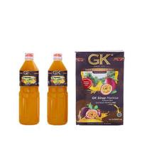 Sirup Markisa merk GK BLACK LABEL ASLI 100% khas Medan (1000L per btl)