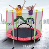 "Speeds Mini Trampoline55"" inch/Mainan Trampolin Anak dewasa +JARING"