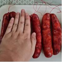 lapchiong BANGKA ASLI, sosis babi ukuran JUMBO