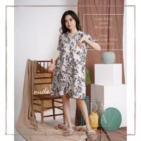 Pajamas / piyama / baju tidur dress wanita dewasa bahan satin