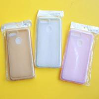 LD acc 0157 OPPO F9 A7 A5S back soft case list glitter mika jelly sili