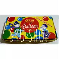 Balon tiup sedotan AAA jadul plembungan mainan tradisional