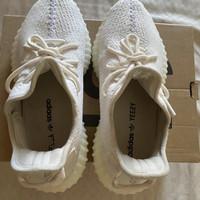 Yeezy 350 creamwhite badassmonkey pair