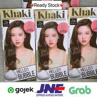 MISE EN SCENE Hello Bubble Ash khaki Blackpink hair color cat rambut