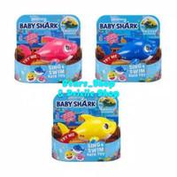 Mainan Mandi Anak Zuru Robo Alive Pinkfong Baby Shark Sing & Swim