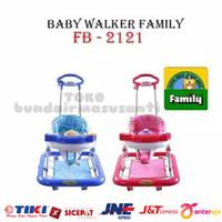 Baby Walker Family 2121 Car Stir Ayun Music / Alat Bantu jalan Bayi