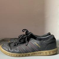 Sepatu Original Adidas Hamburg Black Gum