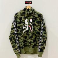 Bape x Mastermind MMJ 1st Camo Green Pullover Hoodie