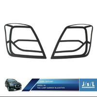 garnish list cover lampu belakang Datsun go hitam dof 7 nip
