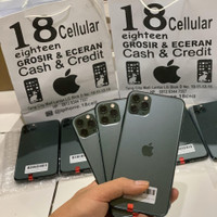 Iphone 11 pro max 64gb second original fullset oem
