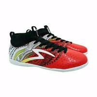 SPECS HERITAGE IN EMPEROR RED WHITE Sepatu Futsal Olahraga Murah
