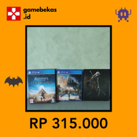 [GAMEBEKAS.ID] Assassins Creed Origins Deluxe Edition Game PS4 Bekas