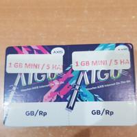 Voucher Data Axis Aigo 1 GB Mini