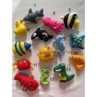 Boneka flanel/ hiasan flanel (sea animal) + pensil - Magnet