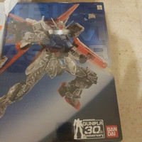 Promo PG Strike Gundam Clear 30 Anniversary Limited Bandai