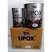 CAT LANTAI EPOXY UPOX white DANA PAINT 0,9ltr • 105-0001