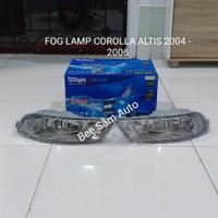 FOG LAMP TOYOTA COROLLA ALTIS 2004 - 2006 TANPA KABEL