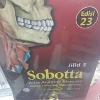 Sobota atlas anatomi manusia edisi 23 jilid 1,2,dan 3 satu paket