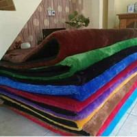 Sarung Karpet Bulu Rasfur Uk 200x150cm / Sarung Surpet Lembut