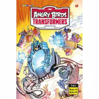 Buku Cerita Anak Angry Birds Transformers 2 in 1 - 3 dan 4