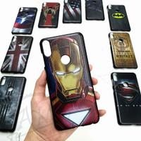ASUS ZENFONE MAX PRO M1  Hard Case Super Hero Man Case Marvel