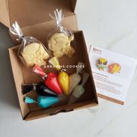 Character Cookies DIY Decorating Kit boys / Hias Wolverine Iron Man
