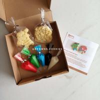 Character Cookies DIY Decorating Kit boys / Hias Hulk Spiderman