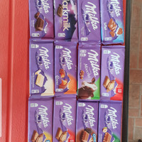 MILKA CHOCOLATE COKLAT