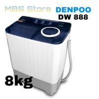 Mesin Cuci Denpoo DW 888 AT 8 KG