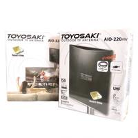 Antena TV Toyosaki AIO 220 | Indoor Outdoor Analog Digital FULL HD