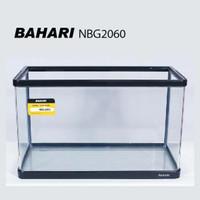 aquarium bahari type 2060 siku lengkung/banding