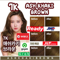 mise en scene hello bubble (ready) warna ash khaki brown