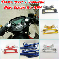 Stang jepit plus Dudukan All new vixion 2017 Vixion R 2018
