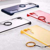Frameless Case Huawei P30 Pro P20 Lite Nova 4E 3E 4 3 3i Casing Ultra