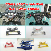 stang jepit new cb150r plus dudukan