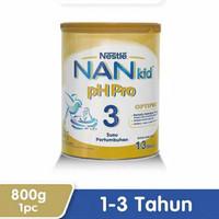 Nestle Nan Kid Ph Pro Optipro Susu Pertumbuhan 1-3 Tahun Kaleng 800gr