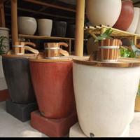 Bak mandi Bali marmer terazzo