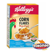 HONEY CRUNCH CORN FLAKES 220 gr Cereal Kelloggs Korn Flake Madu Kelog