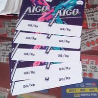 Voucher Axis Aigo Kosong (2 in 1)